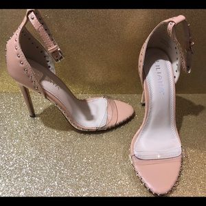 Brand new with box nude studded heels